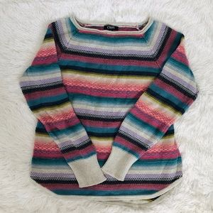 4 for $25 CHAPS MULTI COLORED SWEATER